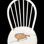 Broken chair with Bell's Turtle