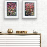 My Garden of Love-3 and 4 Diptych