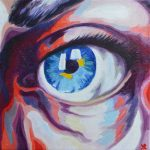 Eye Colour Study  No 1