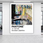 Drunken Libertine Pantone (Archibald Entry 2021)