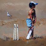 Beach Cricketer III Ltd Ed Print