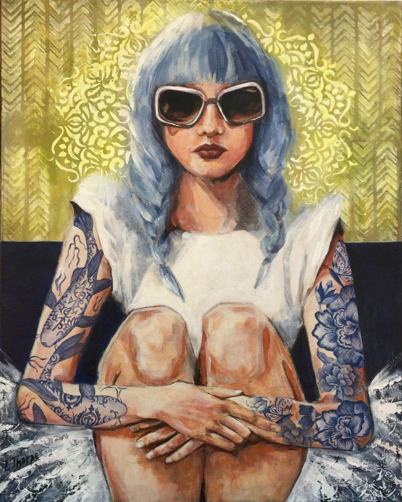 Blue Tattoos Louise Thorpe Art Lovers Australia 819x1024 (1)