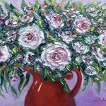Bunch Of Love In A Red Jug