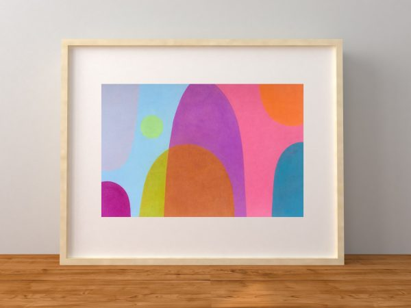 Charlotte De Pace Shine Bright Leaning Frame Example Natural Art Lovers Australia