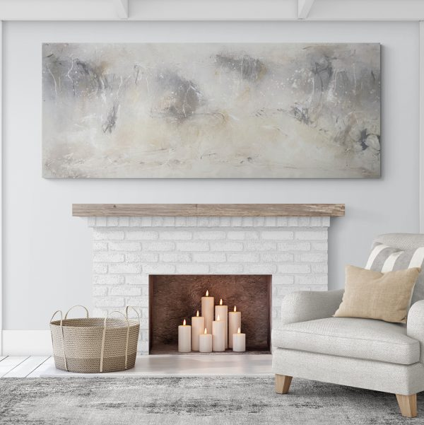 Cosy Warm Living Room With Fireplace Copy