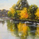 Autumn Reflections Tumut River, NSW