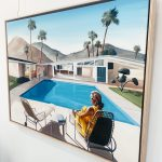 Palm Springs – Waiting by the pool