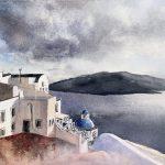 Memories of  the Greek Islands Santorini