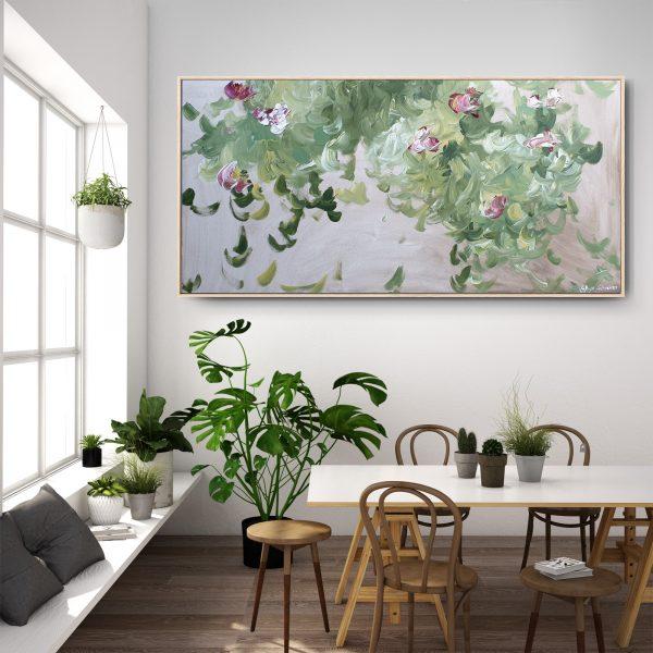 Gabriela Azar Schreiner Large Painting Abstract Art 114