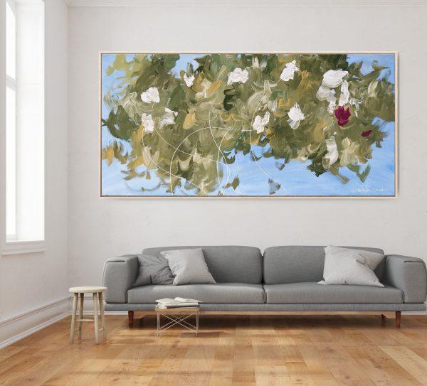 Gabriela Azar Schreiner Large Painting Abstract Art 11g4