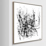 Gin Alley- Framed Limited Edition Print 105cm- FINAL EDITION