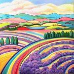 Gelato Fields and Lavender Days