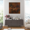 Ivona Radic Somewhere In Time 81x81 Abstract Landscape Insitu Sitting Room