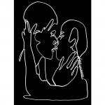 The First Kiss Ltd Ed Print