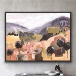 Living The Dream – Black Timber Framed Ltd Ed Print