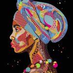Nzuri (Beautiful) African Woman – Ltd Ed Print
