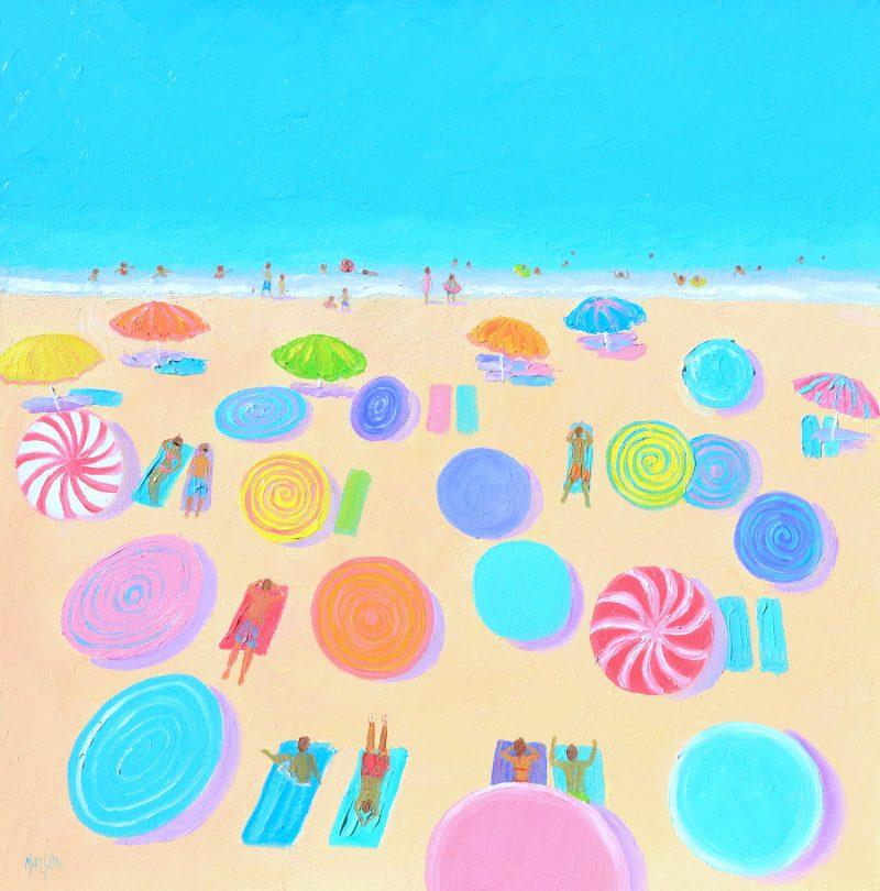 Summer At Last Beach Painting By Jan Matson 800x810