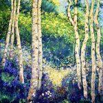 Sunkissed Birch Grove