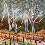 Tall Gums At The Vineyard