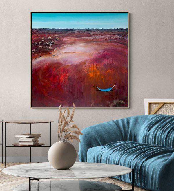 Tania Chanter Red River Blue Gum Landscape