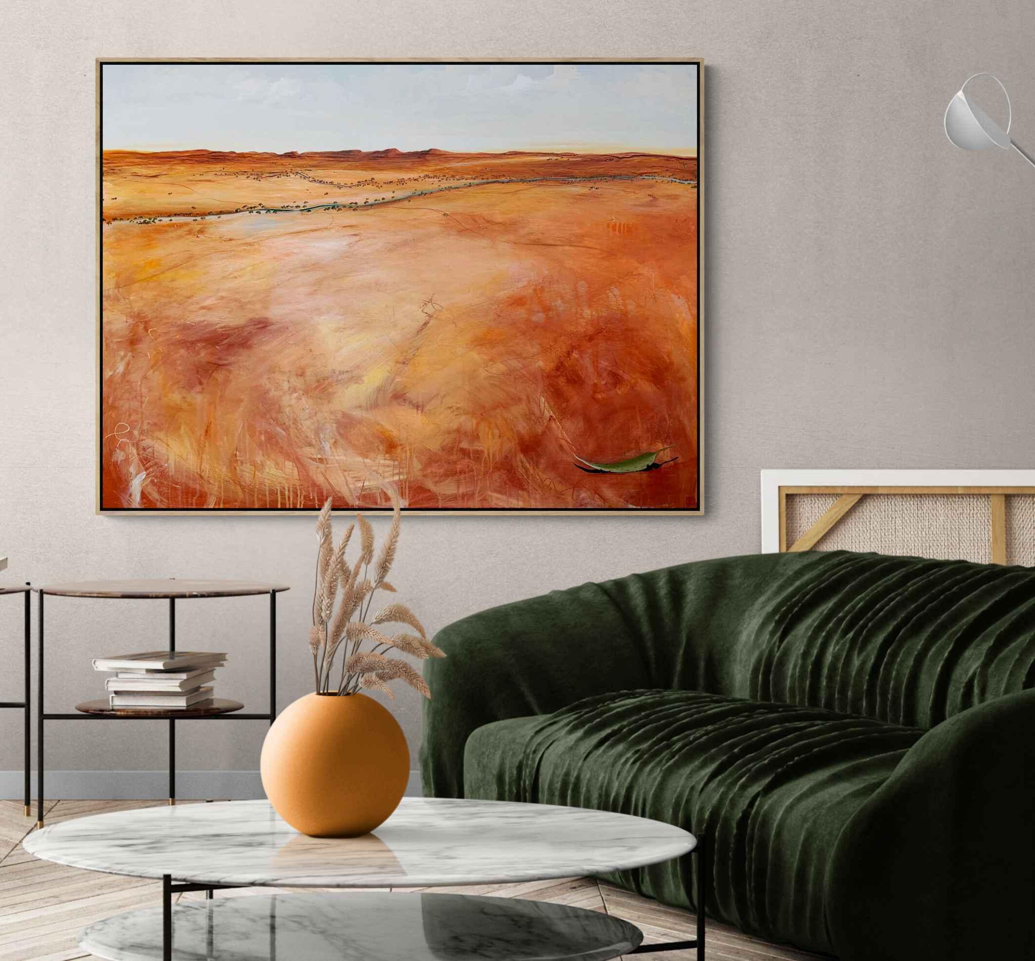 Tania Chanter The Distant Plains Landscape