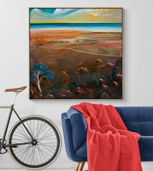Tania Chanter The Distant Shore Landscape Art