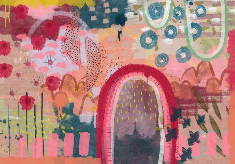 Through The Garden Gate 800x560