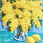 Wattle and Lemons