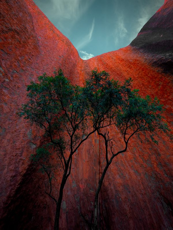 Arkosic Monolith Uluru Ayers Rock Northern Territory Australia Art Prints Nikart Fineartphotography