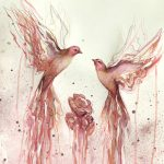 And I Will Bring You Roses (Pink Finches)