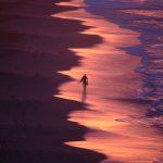 Waves break as the day breaks Ltd Ed Print