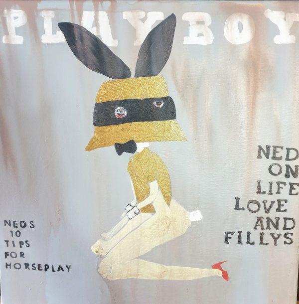 Neds The Playboy Centrefold