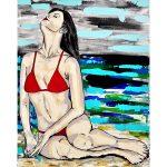 Red Bikini 2 – Woman at the Beach/Ocean