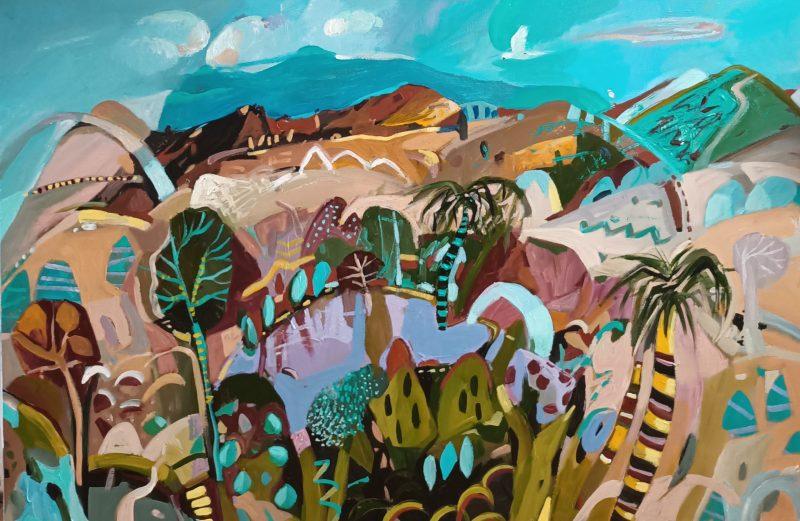 Summer Oasis By Susan Trudinger Art Lovers Australia