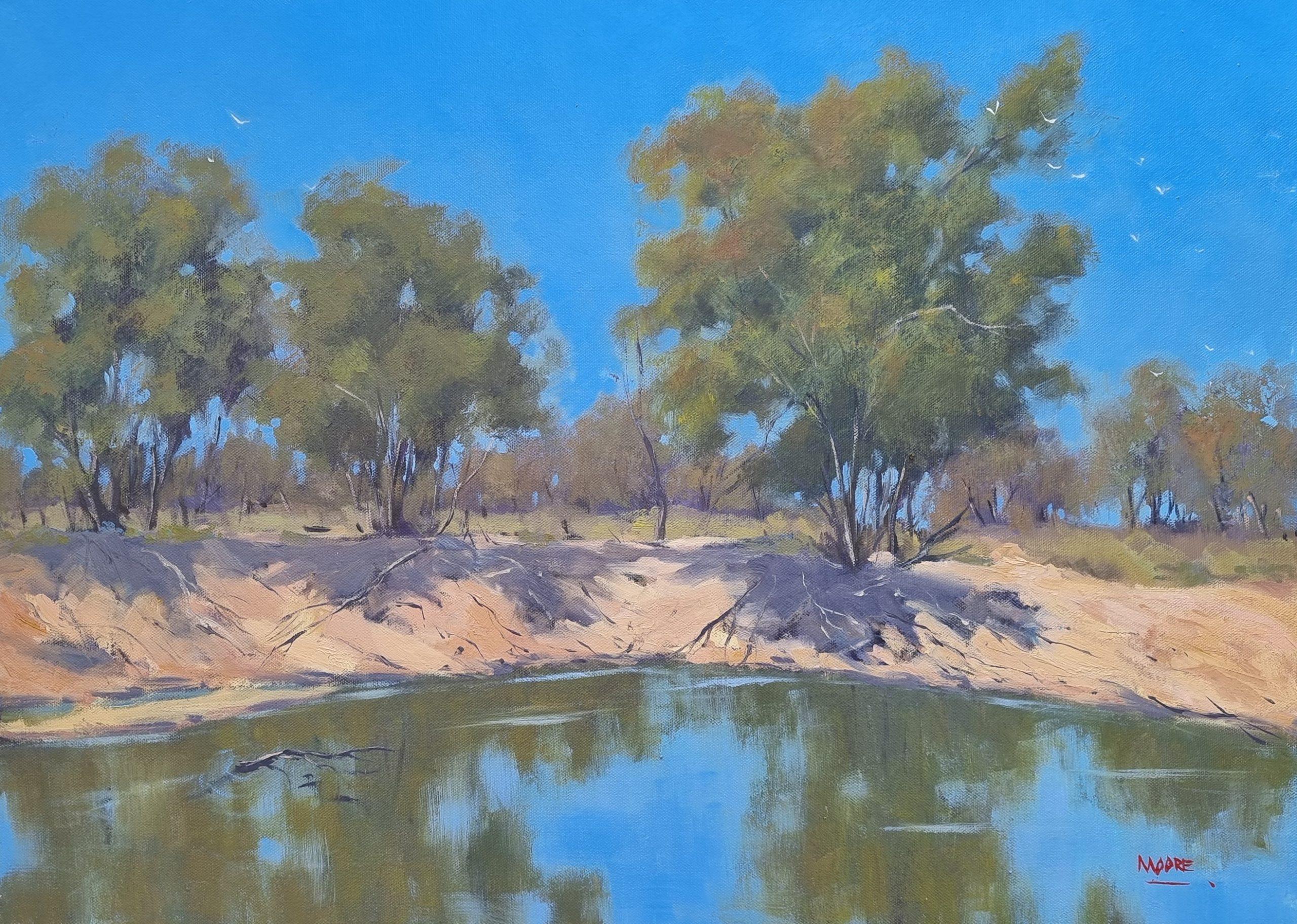 #19 Outback Waterhole