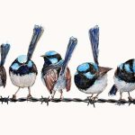 Wrens on A Wire