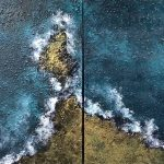 The Sea (diptych)
