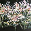 Autumn Protea 2021 Jen Shewring Acrylic On A3 Canvas Board 42x30cm