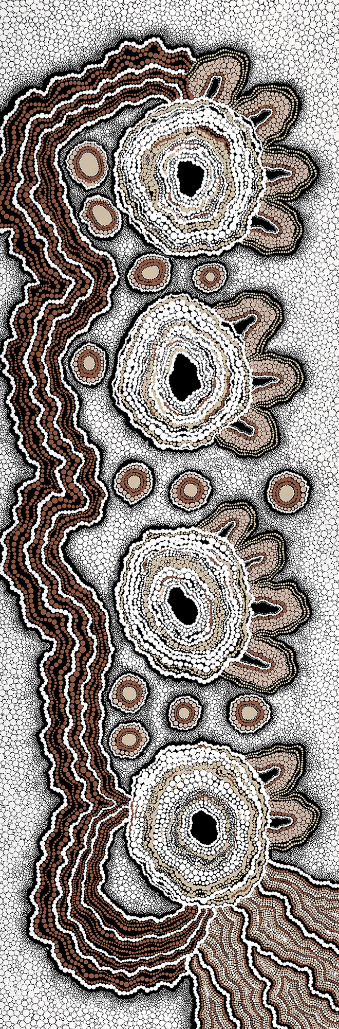 Birthing Place Bianca Gardiner Dodd Aboriginal Art