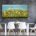 Here comes the Sun- Sunflowers painting