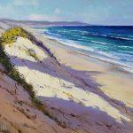 View along Birdie Beach Australia