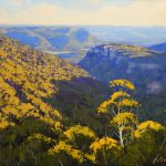Grose Valley sunlight, Blue Mountains