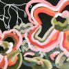 Double Bond 2021 Jen Shewring Acrylic On A3 Canvas Paper 42x30cm