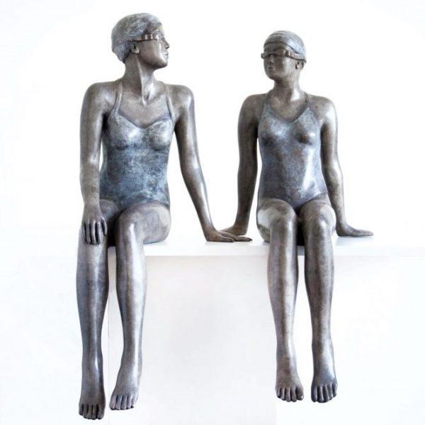 Early Mornings Mela Cooke Sculpture Art Lovers Australia 600x600