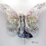 Enaista – vintage hybrid European fairy – art doll sculpture