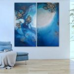 """Extra Large Wall Art """"Seclusion"""""""