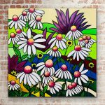 Summery Echinaceas