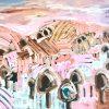 Loves Harvest 2021 Jen Shewring Acrylic On Sb Canvas 145x108cm