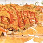 Landscape Kwartatuma Ormiston Gorge