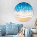 """Blue Beach Art """"Boundless Blue"""""""